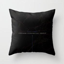 David Conner Pillow Throw Pillow