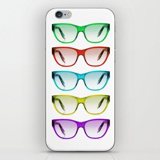 SUMMER SUNGLASSES iPhone & iPod Skin