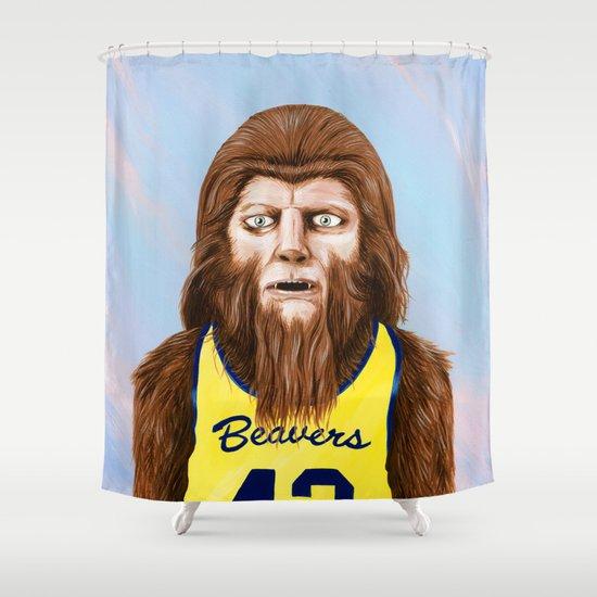 Teenwolf Shower Curtain