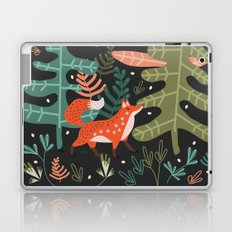 Evergreen Fox Tale Laptop & iPad Skin