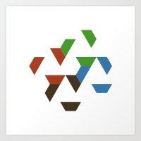 #547 Spread – Geometry Daily Art Print