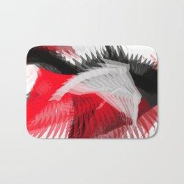 flying abstract digital painting Bath Mat