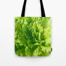 Lettuce closeup Tote Bag