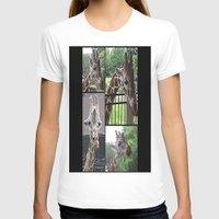 giraffes T-shirts featuring Giraffes  by grapeloverarts