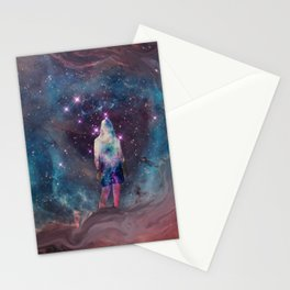 Meditation in the Stars Stationery Cards