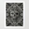 Lace Skull by aligulec