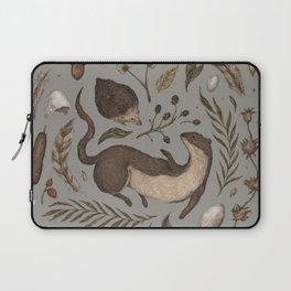 Weasel and Hedgehog Laptop Sleeve