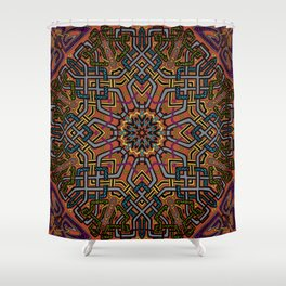 Knotted Past Shower Curtain