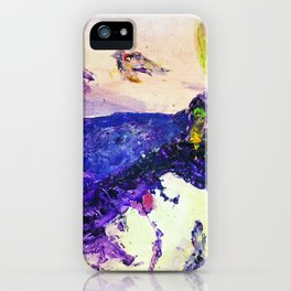 Alive Inside This Mountain iPhone Case