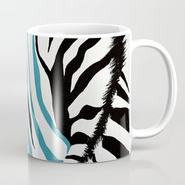 punk rock zebra Coffee Mug