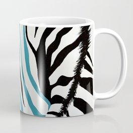 punk rock zebra Coffee Mug