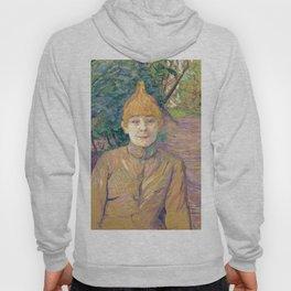 "Henri de Toulouse-Lautrec ""The Streetwalker (Also Known As Casque D'Or)"" Hoody"