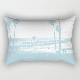 San Clemente Pier, Southern California Rectangular Pillow