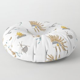 Native American tribal print Floor Pillow