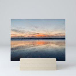 Rising Sun Over Miami Mini Art Print