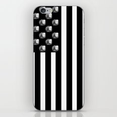 US MiniFigure Flag - Vertical iPhone & iPod Skin