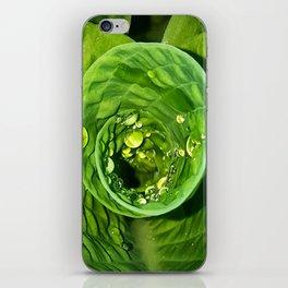 Spiral Drops iPhone Skin