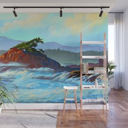 Wild West Coast Wall Mural