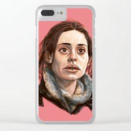 Fiona Gallagher Clear iPhone Case