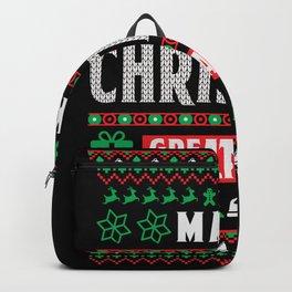 Make Christmas Beautiful Again Backpack