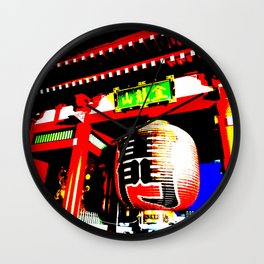 Kaminarimon Wall Clock