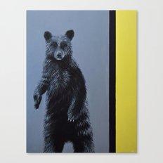 Minimalist Bear Canvas Print