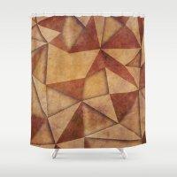 brown Shower Curtains featuring Brown by jbjart