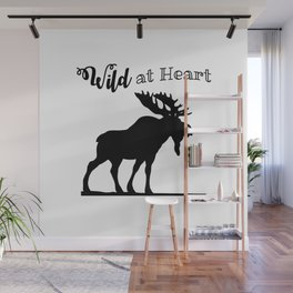 Wild at Heart-Moose Wall Mural