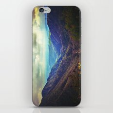 Upon the hill iPhone & iPod Skin