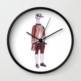Mister Ostrich Wall Clock