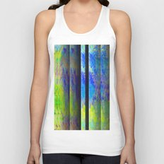 Yellow Color Blinds Unisex Tank Top