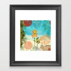 Sea Shell Flowers I Framed Art Print