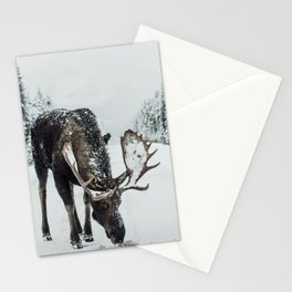 moose #society6 #decor #buyart Stationery Cards