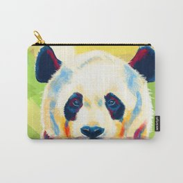 Panda taking a bath Carry-All Pouch