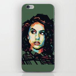 Alessia Pop Art Cara iPhone Skin