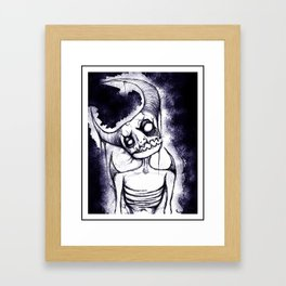 Meep, the Idiot Devil Boy Framed Art Print