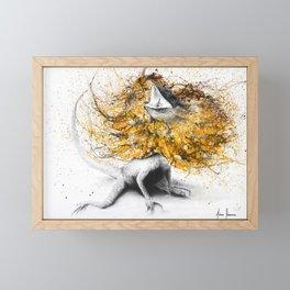 Frilled Framed Mini Art Print