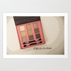 Eyeshadow Art Print