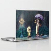 hobbes Laptop & iPad Skins featuring My Neighbor Hobbes by Josh Mauser