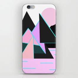 Hello Mountains - Moonlit Adventures iPhone Skin