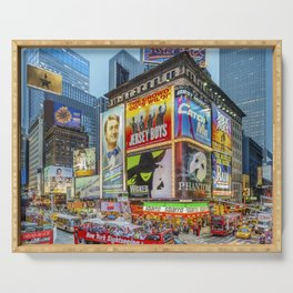 Times Square III Special Edition I Serving Tray