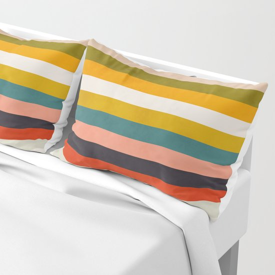 modern abstract stripe geometric by anarutbre