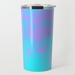 Cotton Candy Clouds - Purple & Blue Travel Mug