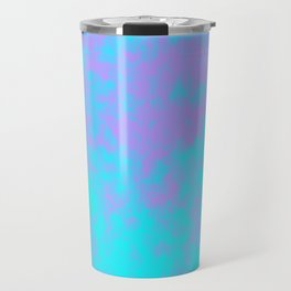 Cotton Candy Clouds - Purple & Blue Travel Mug
