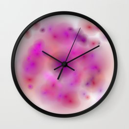 movement and stillness Wall Clock