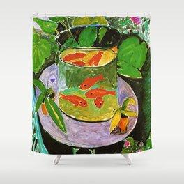 Henri Matisse Goldfish Shower Curtain