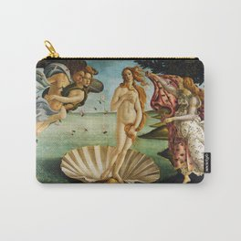 The Birth of Venus by Sandro Botticelli (1485) Carry-All Pouch
