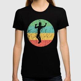 Singing Vintage Retro Music T-shirt