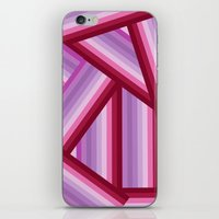 gradient iPhone & iPod Skins featuring Gradient by Louise Machado