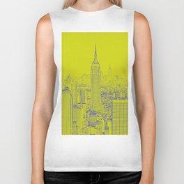 Empire State - Green Biker Tank